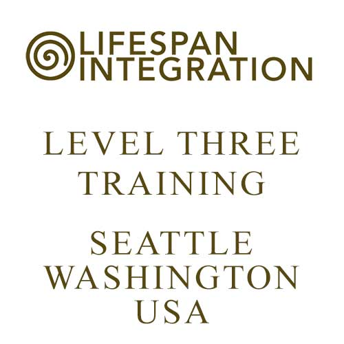 Level Three Lifespan Integration Training Seattle