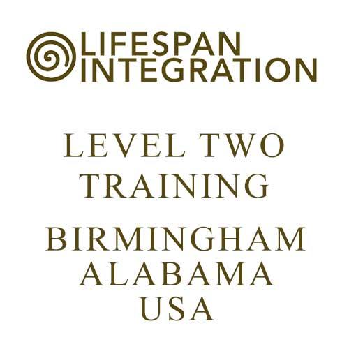 Lifespan Integration Level 2 training - Birmingham, Alabama, USA